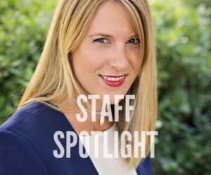 Sarah Meierhoefer: STAFF SPOTLIGHT